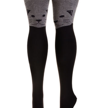 The Cats Meow Thigh High Socks