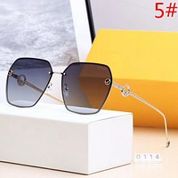 Fendi Fashion New Polarized Glasses Sunscreen Shopping Leisure Travel Glasses Eyeglasses Women