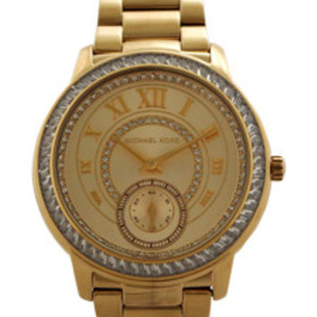 MK6287 Chronograph Madelyn Gold-Tone Stainless Steel Bracelet Watch Watch Michael Kors