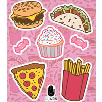 JUNK FOOD STICKERS - PREORDER