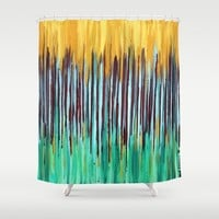 ::  Anniversary  :: Shower Curtain by :: GaleStorm Artworks ::