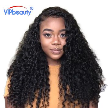 Vip beauty Peruvian Deep Curly Hair 100% Human Hair Weave Bundles Hair Extensions 3 or 4 bundles
