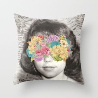 her point of view Throw Pillow by Bianca Green