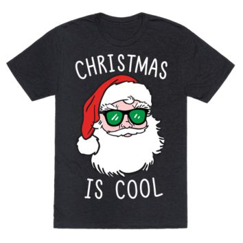 CHRISTMAS IS COOL (WHITE) T-SHIRT