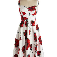 Stop Staring! Rose to Show Dress | Mod Retro Vintage Dresses | ModCloth.com