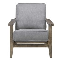 Ryder Accent Chair SLATE - ANTIQUE WOOD