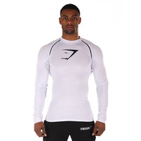 GymShark Core Top - White T-shirts | GymShark International | Bodybuilding & Gym Clothing
