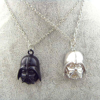 Star Wars Darth Vader Helmet Alloy Pendant Necklace