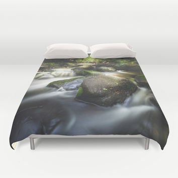 Even in darkness there´s light Duvet Cover by HappyMelvin | Society6
