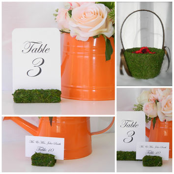 Party in a Box- Moss Wedding Decor Package for 100 Guests