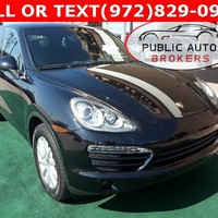 Used 2012 Porsche Cayenne For Sale in Lewisville TX | Stock: A10145