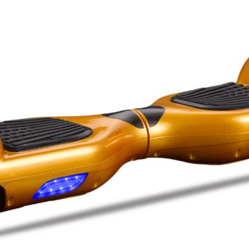"""6.5"""" UL 2272 M01 Smart Self Balancing Electric E Scooter Hoverboard Gold v2"""