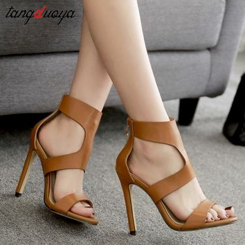 ladies shoes pumps women shoes open toe high heels shoes woman sandals women high heel shoes zapatos mujer tacon