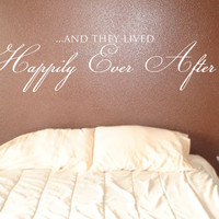 Happily Ever After Vinyl Wall Art
