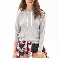 Heathered Knit Pullover