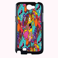 monster pattern FOR SAMSUNG GALAXY NOTE 2 CASE**AP*