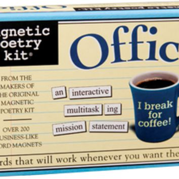 Office Kit Magnetic Poetry