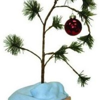 Product Works 14211 Charlie Brown Musical Lonely Christmas Tree
