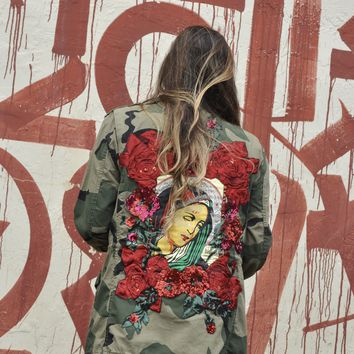 NEW BLESSED Camo Jacket