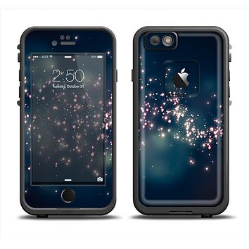 The Dark & Glowing Sparks Apple iPhone 6 LifeProof Fre Case Skin Set