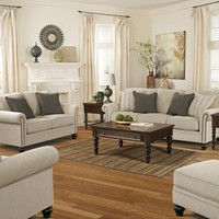 Milari Collection Two Piece Living Room Set