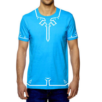 Legend of Zelda Breath of the Wild Tshirt, Zelda Tunic Tshirt, Zelda Tshirt, Link Tunic, Link Shirt, Nintendo