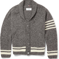 Thom Browne - Wool and Mohair--Blend Cardigan | MR PORTER