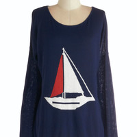 Sailing into Style Sweater