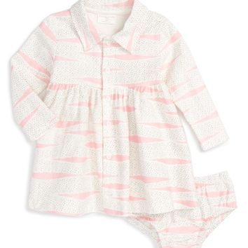 Rosie Pope Flannel Dress (Baby Girls) | Nordstrom