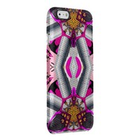 Fashion Girl Kaleidoscope Pattern Clear iPhone 6/6S Case