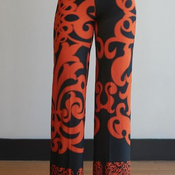 Fine As Fall Print Palazzos - Regular Sizes!-- 3 Colors!