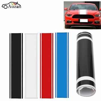 Car Racing Hoods Roof Tail Vinyl Stripe Graphics Performance Decoration Sticker