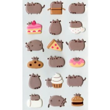 Pusheen Puffy Sticker Sheet