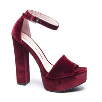ACE ANKLE STRAP HEEL