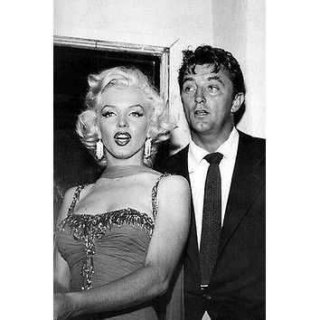 ROBERT MITCHUM MARILYN MONROE poster GLAMOROUS EXPRESSIVE hot NEW 24X36