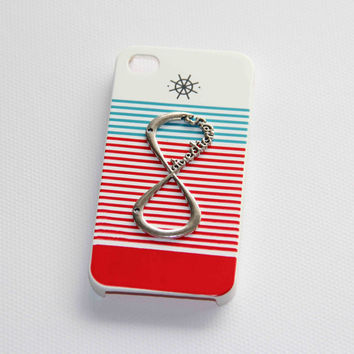 navy style iphone 4 4s case one direction phone case friendship love gifts summer trending