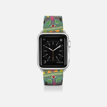 painted elephant pink apple watch band Apple Watch Band (38mm)  by Sharon Turner | Casetify