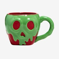 Disney Snow White And The Seven Dwarfs Poison Apple Mug