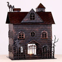Haunted House Tealight Holder | Candles & Home Fragrance| Home Decor | World Market