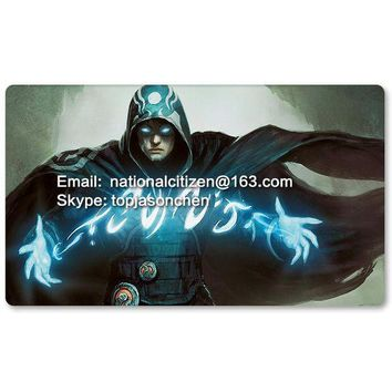 ONETOW Many Playmat Choices -Jace the Mind Sculptor- MTG Board Game Mat Table Mat for Magical Mouse Mat the Gathering 60 x 35CM