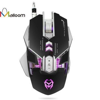 3200DPI Optical Adjustable 7D Button Wired Mechanical Gaming Mouse
