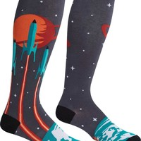 Launch from Earth Stretch It | KNEE HIGH SOCKS