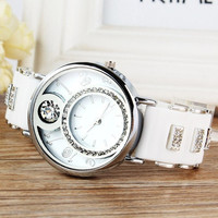 Women Digital Jelly Silicone Watches Bling Crystal Lady Girl Sport Analog Quartz Wrist Watch = 1956819652
