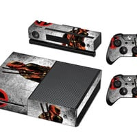 Deadpool Decal for Xbox One Console