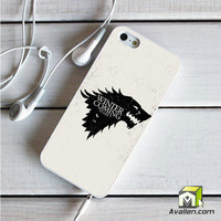 Game Of Thrones Stark Winter Is Coming iPhone 5|5S Case by Avallen