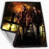 Supernatural Painting Art Design Blanket for Kids Blanket, Fleece Blanket Cute and Awesome Blanket for your bedding, Blanket fleece *