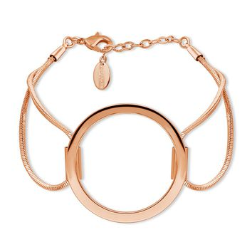 Rose Gold-Tone Open Circle Link BraceletBe the first to write a reviewSKU# b279-03