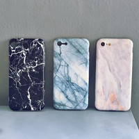 Old Marble Case for iPhone 7 7Plus iPhone se 5s 6 6 Plus Best Protection Cover +Gift Box