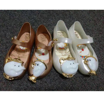 Beauty & Beast Tea Cup Shoes(2 color options)