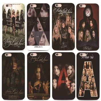 Who is Pretty Little Liars For iphone 4 4s 5 5s 6 6s 7 plus for Samsung s3 s4 s5 s6 s7 Edge Hard plastic phone case